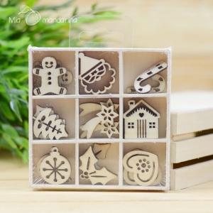 27 Mini siluetas Navidad (Noel)