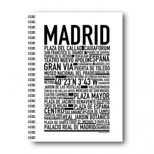 Libreta A5 Gullers Madrid