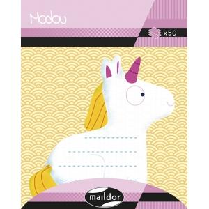 Notas adhesivas Unicornio sentado Maildor