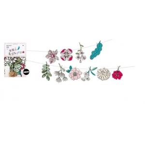 Guirnalda Hygge flores