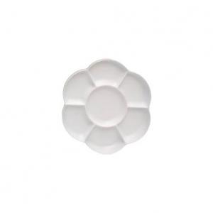 Paleta plástica flor 17 cm