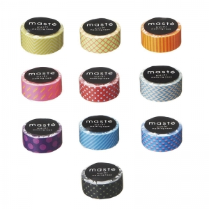 Washi tape Masté estampados
