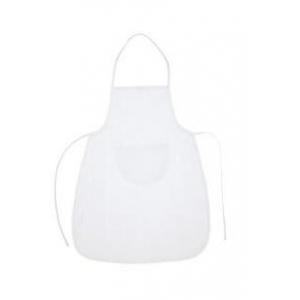 Delantal Tela blanco 66x72 cm