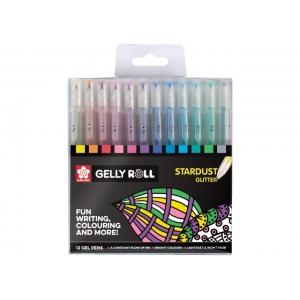12 Bolígrafos Gelly Roll Satrdust