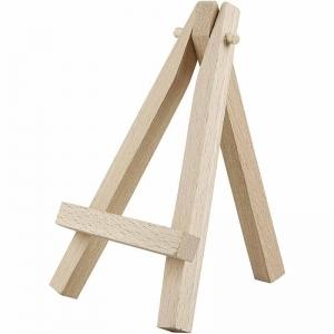 Mini caballete madera 12 cm