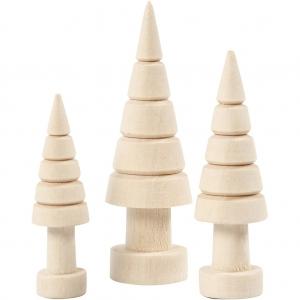 3 árboles Navidad  5-7 cm