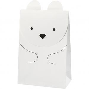 6 bolsas oso polar