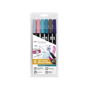 Set 6 rotuladores tombow Vintage