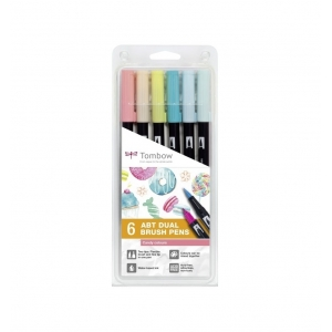 Set 6 rotuladores tombow Candy