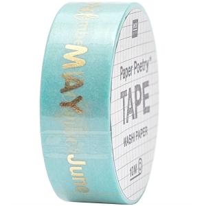 Washi tape meses (inglés)