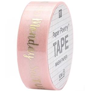 Washi tape semanas (inglés)