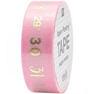 Washi tape números (1-31)