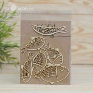 Chipboard Set de peces