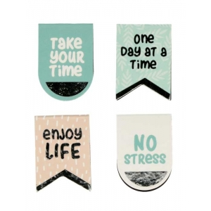 4 clips magnéticos No stress