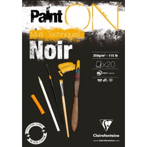 Paint-on Negro 250 gr A5 o A4