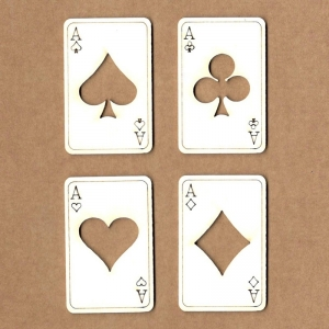 Chipboard Cartas