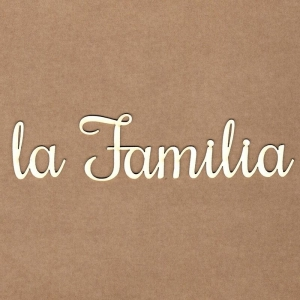 Chipboard La familia