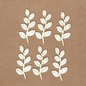 Chipboard Rama con hojas