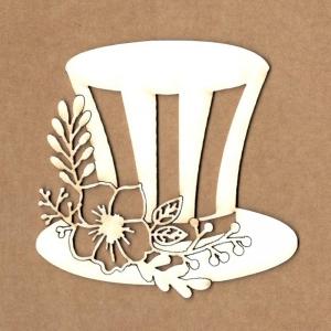 Chipboard Sombrero sombrerero loco