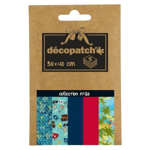 5 papeles decoupage pocket nº20