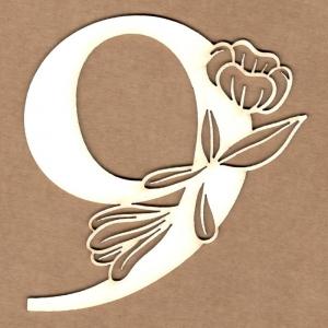 Número floral 9