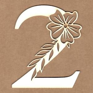 Número floral 2
