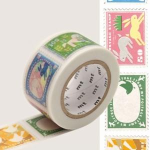 Washi Tape Postage stamp mt