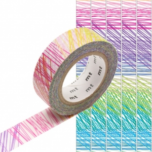 Washi Tape Scribble mt