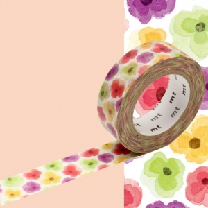 Washi Tape Pansy mt
