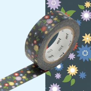 Washi Tape Mini flower mt