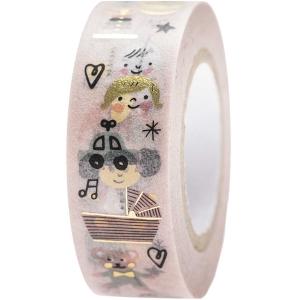 Washi tape Baby rosa