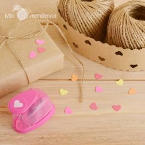 Perforadora Corazón Mini 1cm