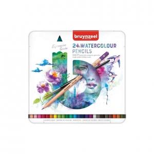 24 lápices acuarelables Bruynzeel