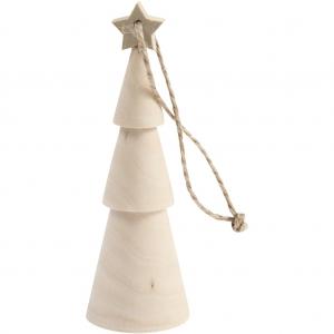 Árbol Navidad estrella 9 cm