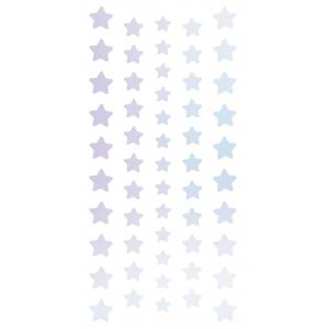 4x Pegatinas holográficas estrellas
