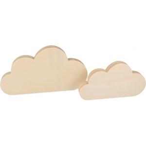 2 nubes madera