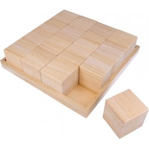 Caja con 16 cubos 6 cm