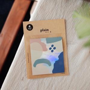 2 Hojas Pegatinas Plain 19
