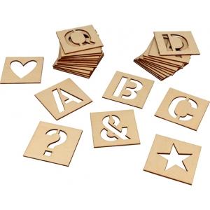 Siluetas alfabeto