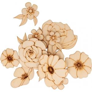 Surtido 26 piezas happy spring madera