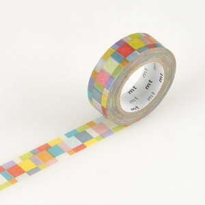 Washi Tape Mosaic bright mt