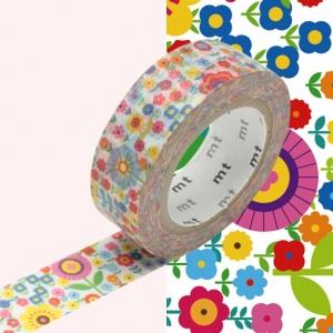 Washi Tape Mini flower garden mt