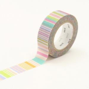 Washi Tape Border Pastel mt