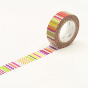 Washi Tape multi border vivid mt