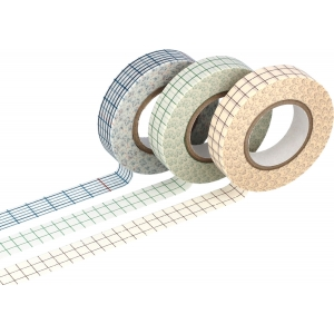3 Washi tape Grid 12x15