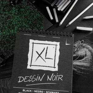 Bloc XL Black - Dessin Noir A5/A4