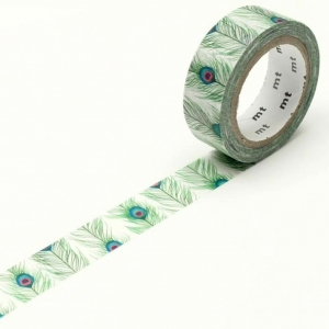 Washi Tape EX Feathers mt