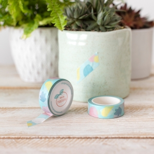 Washi tape Mia-Spring mint