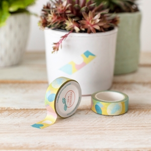 Washi tape Mia-Spring yellow