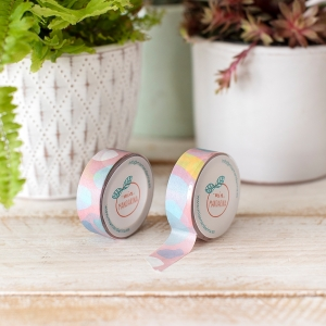 Washi tape Mia-Basic pink